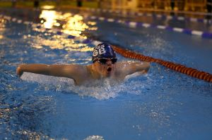 Zac Lacey GB Swimmer