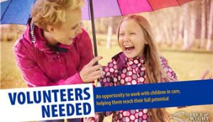 Volunteer advert