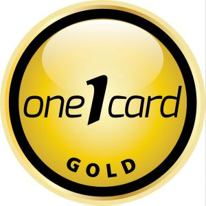 Gold One Card