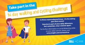 Walking and Cycle challenge