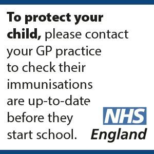 NHS immunisation message