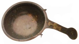 A skillet - The Island's Earliest Christian Object