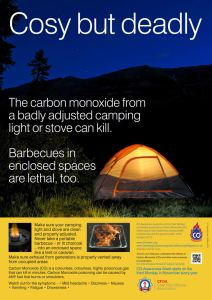 Camping Safety Poster