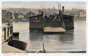 Cowes floating bridge c 1905