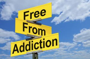 Free From Addiction Sign