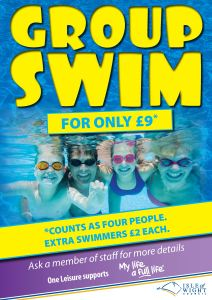 Promotional Poster - Group Swim