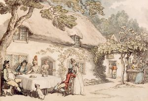Steephill by Thomas Rowlandson