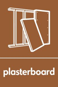 Graphic image depicting plasterboard