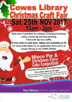 Cowes Library Christmas Craft Fair