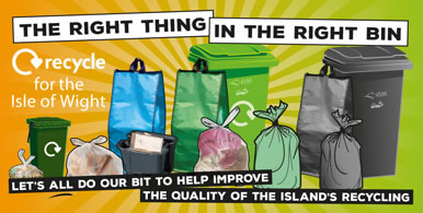 Improve recycling on the IOW