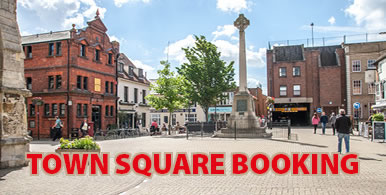Town Square online bookings