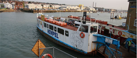 Cowes Floating Bridge Charges