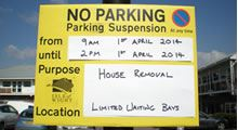 Parking Suspensions & Dispensations