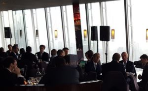SiteMatch took place at The Shard, in London.