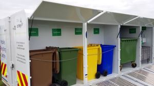 The mobile recycling centre is hitting the road