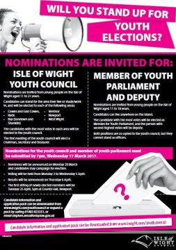 Youth elections nominations now open