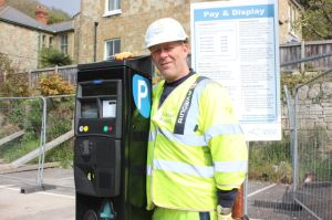 Replacement machine installed in Ventnor