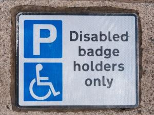 Disabled residents on the Island are being warned to avoid websites charging for blue badge applications