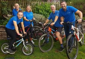 The Wight Cycle Training team