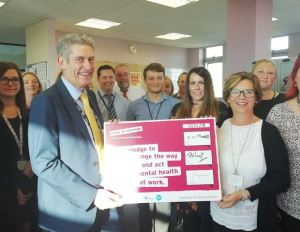 The council has signed up to the Mental Health Pledge