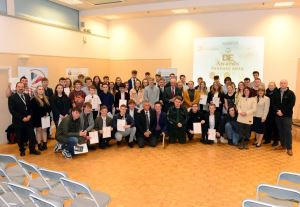 Over 70 young people have recieved their Duke of Edinburgh award (photo courtesy of IWCP)