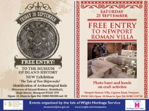 Both open days have been organised by the council Heritage Service