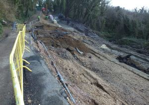The deteriorating situation at Undercliff Drive