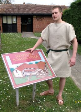 Newport Roman Villa will open for free on 26 July