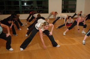Fitness classes are very popular at The Heights and Medina.