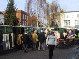 There will still be many street markets for the public to enjoy, such as this one in Newport.