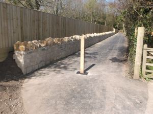 The footpath from Quay Lane to the old railway line in Brading was recently refurbished using LSTF funding