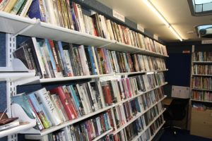 A large amount of books have been provided as part of the scheme