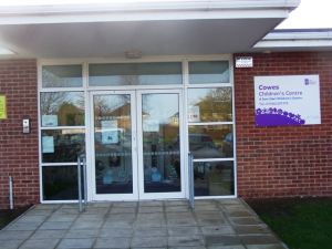 The new peers are supported by the Island's children's centres such as Cowes (pictured)