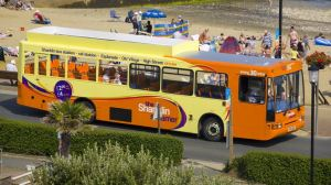 The Shanklin Steamer will operate over Easter (photo Southern Vectis website)