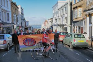 The schools competition will take place on part of the Pearl Izumi course in Ryde
