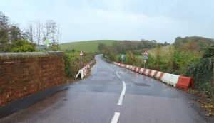 Marshcombe Shute will be closed for around three weeks while the works take place.
