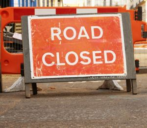 Residents should expect road closures and delays while improvement works are carried out
