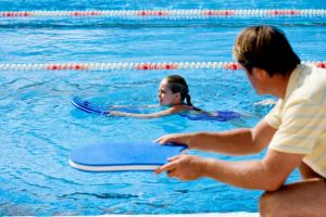 Swimming lessons are proving popular at council leisure centres