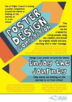 A poster has been sent to schools outlining the competition