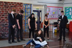 The play has been well received by school pupils