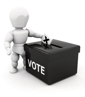 All electors who have registered will be able to vote in forthcoming elections