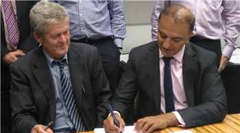 New waste contract officially signed
