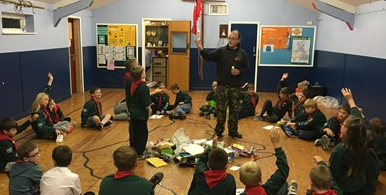 Cubs learn all about recycling